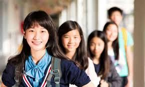 Asian American High School Students