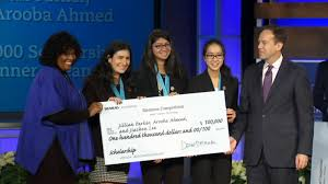 Students win the Siemens Westinghouse Competition for Math, Science, and Technology.