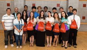 Students gather for the Garcia Summer Scholars Program.