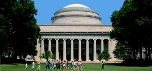 The beautiful campus of MIT.