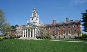 The campus at the Phillips Academy Andover.
