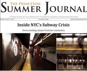 The Princeton Summer Journal