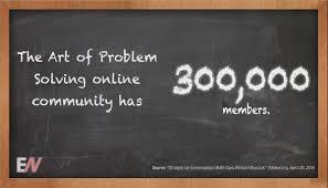 300k Art of Problem Solving (AOPS) members have signed up for AOP