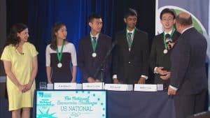 The winning team of the challenge