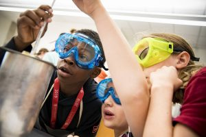 Applicable middle schoolers participating in one of Johns Hopkins CTY summer programs.
