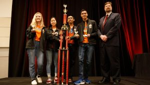 High school students take the prize in the national Quiz Bowl.