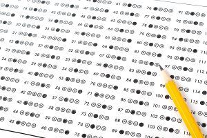 SAT scantron test