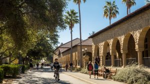 The Stanford campus.