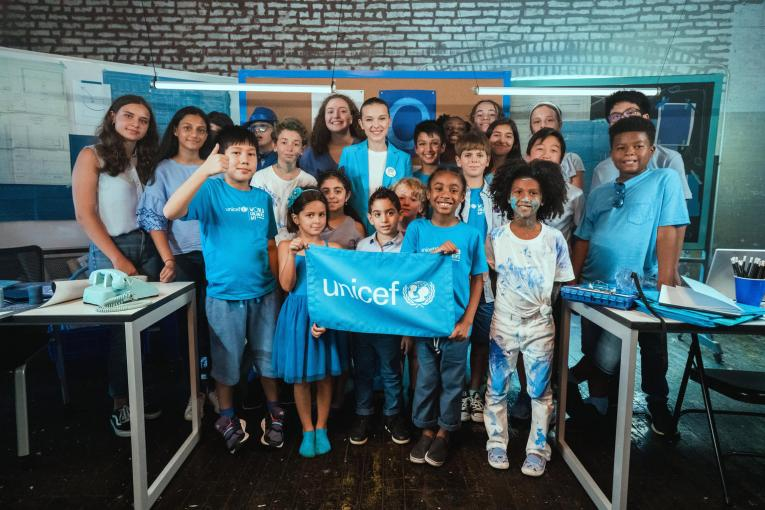 Join the UNICEF volunteers today