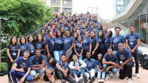 2019 Summer School Students pose for the Columbia Summer Program