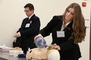 Students compete at regional HOSA competition(s)