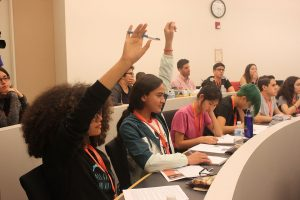 High school students participate in the Princeton Summer Journalism Camp