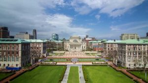 Columbia college life, which is discussed in one of the supplemental essays.