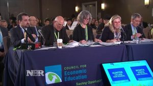 The judges of the National Economic Challenge