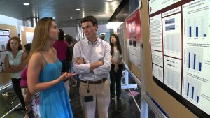 High School students at the Simons Summer Research Program