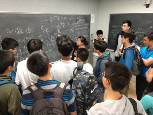 A community of high schoolers prepare for the USA Physics Olympiad