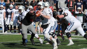 Yale's football team, Bulldogs, take the win against Princeton.