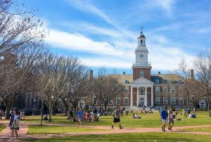 The college life in Johns Hopkins college.