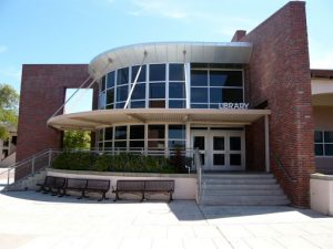 A view of the library of Monta Vista High School