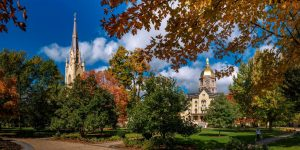 Notre Dame school grounds
