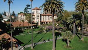 Santa Clara University main building