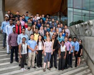 Summer program participants