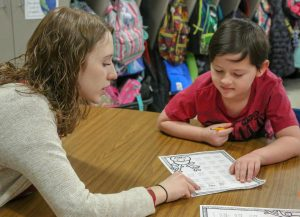 High schooler selflessly teaches special education students