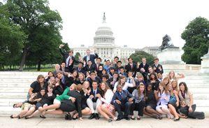 Congressional Volunteer Award attendees