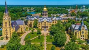 Notre Dame University main campus