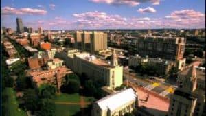 Boston University Aerial view