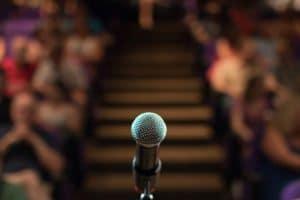 Qualifying members must practice public speaking