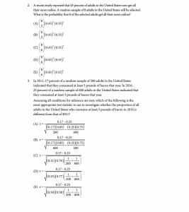 Sample Statistics Question