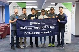 Students from Minnesota and Massachusetts poses for the National Science Bowl