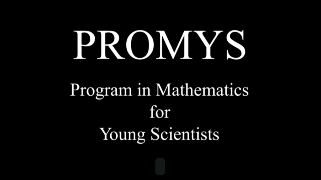 Program in Mathematics for Young Scientist Logo