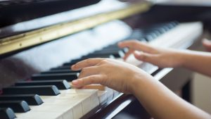 playing the piano in NAfME