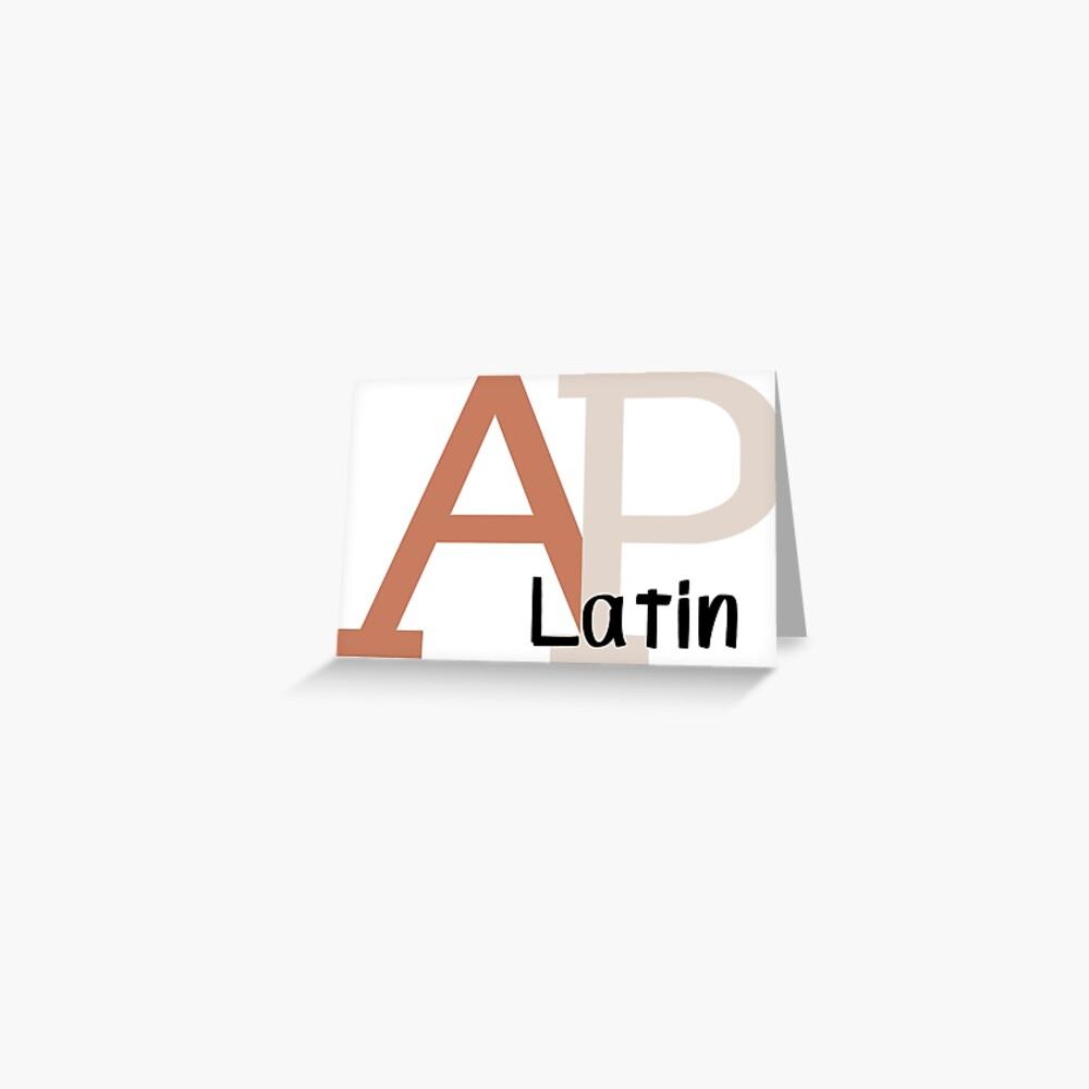 AP Latin Logo