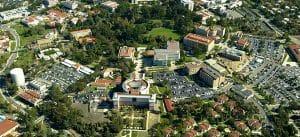 University of California aerial view