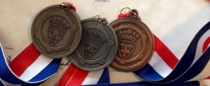 National French Competition medals