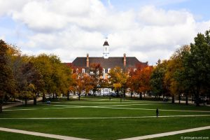 University of Illinois Urbana-Champaign school grounds