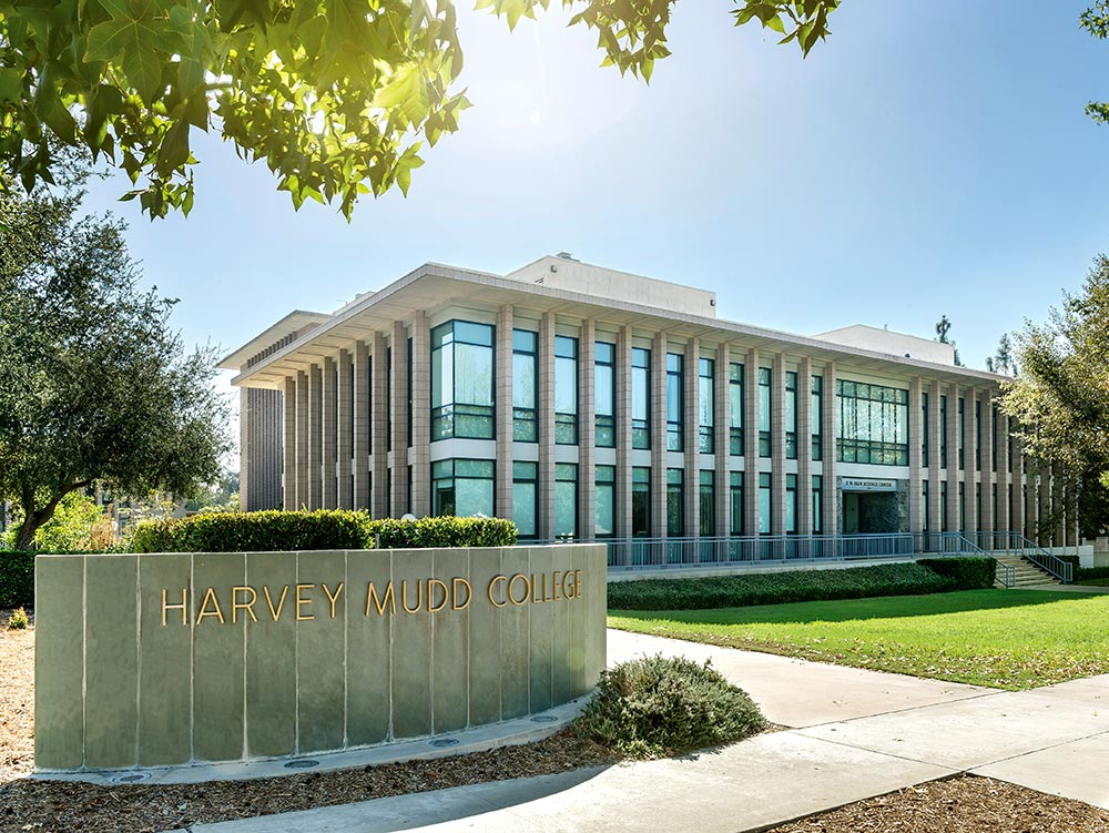 Harvey Mudd College main building