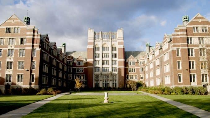 Wellesley college main building