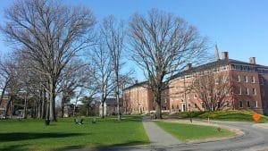 Amherst college school grounds
