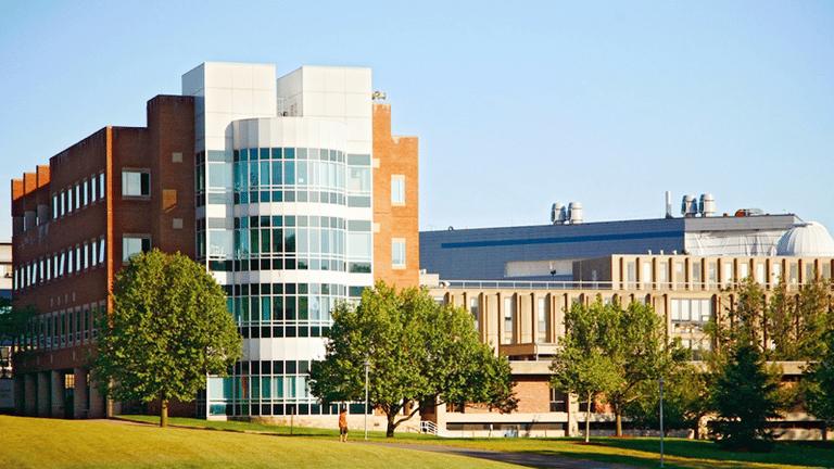 Brandeis University main building