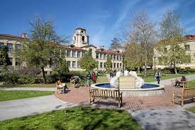 Pomona college school grounds
