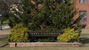 Tufts University signboard