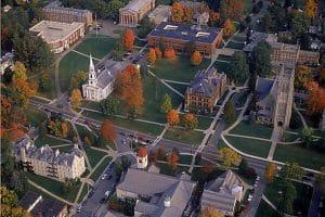 Williams college aerial view