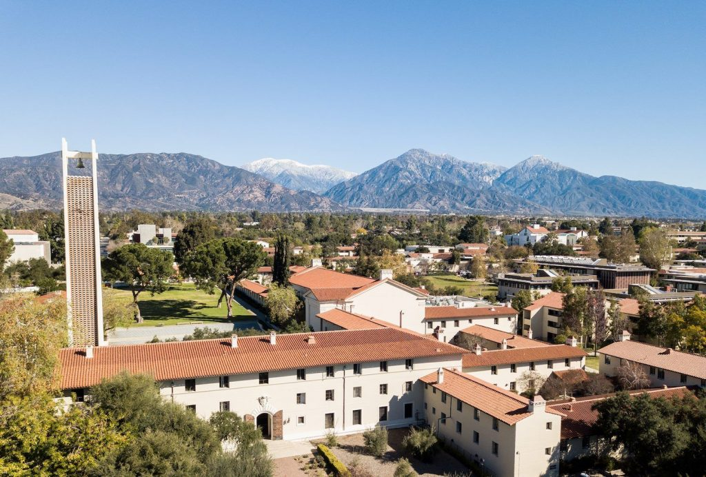 Pomona college school campus