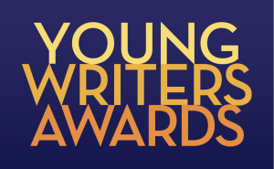 Young writers award logo in different colors.